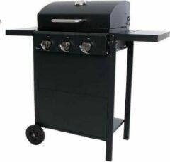 Zwarte BBgrill Gasbarbecue -Iowa Gas BBQ- Buitenkeuken - Outside cooking possibility