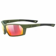 Groene UVEX FietsSportstyle 225 2019 sportbril, Unisex (dames / heren), Sportbril,