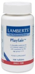 Multi guard for kids (playfair) van Lamberts : 100 kauwtabletten
