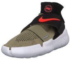 Laufschuhe 2018 942840-200 mit Flyknit-Struktur Nike Neutral Olive/Bright Crimson-Black-White