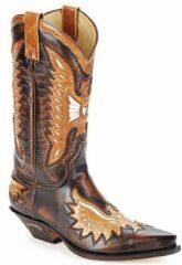 Bruine Knielaarzen Sendra boots CHELY