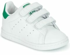 Adidas Originals Stan Smith CF I sneakers wit/groen