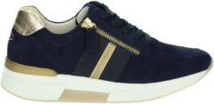 Gabor Rollingsoft dames sneaker - Donker blauw - Maat 37