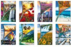 Blasetti Quaderno Maxi Paesaggi Zip Seconda e Terza Elementare 10 pezzi