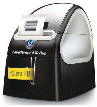 Afbeelding van DYMO LabelWriter 450 Duo Labelprinter Thermisch 300 x 600 dpi Etikettenbreedte (max.): 56 mm USB