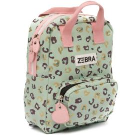 Zebra Trends Girls Rugzak S Vierkant leo mint & gold Kindertas