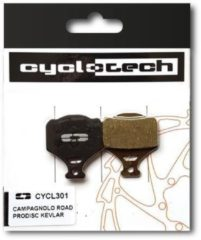Cyclotech Components Prodisc Kevlar Remblokken voor o.a.Campagnolo Road Disc