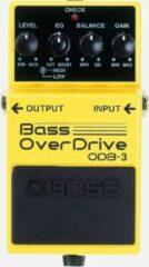 Gele Boss ODB-3 Bass OverDrive bas distortion/fuzz/overdrive pedaal