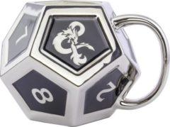Zilveren Merkloos / Sans marque Dungeons & Dragons mug D12
