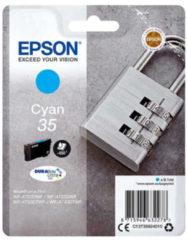 Epson Padlock Singlepack Cyan 35 DURABrite Ultra Ink