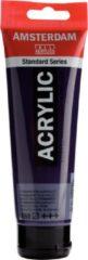 Paarse Royal Talens Standard tube 120 ml Permanentblauwviolet halftransparante acrylverf permanent blauw violet