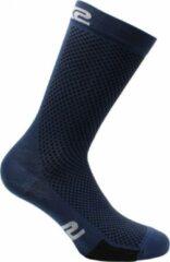 Blauwe SIXS Med-Comp Breathfit Fietssokken Maat 3/L (44-47)