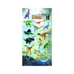 Merkloos / Sans marque Stickers Dinosaurussen 15 Stuks