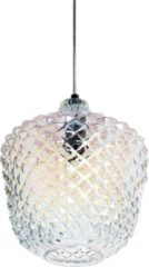 Witte Collectione Moderne Hanglamp Ibiza 33 cm 1 Lichts Poly Chroom