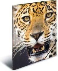 Elastomappen Herma 7142 A3 PP - Leopard