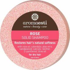 Aromaesti Solid shampoo Bar Rozen voor Droog Haar - 75 gram