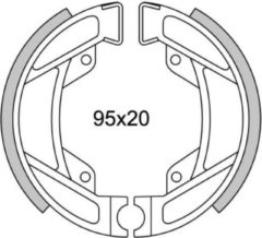 Zwarte Oplos Scooters REMSEGMENTEN NEW FREN GF1246