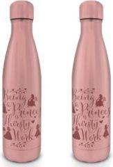 Roze Disney Princess Thirsty Work Metal Drink Bottle