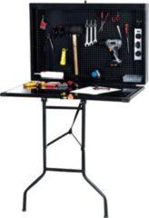 CLP Arbeitsbank WALLY, Werkzeugkasten & Werkbank, Werkzeugschrank klappbar, Werkstatteinrichtung,