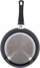 Zwarte Benson Koekenpan - 26 CM - Aluminium - Anti Aanbak Laag