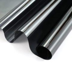 Transparante Wicotex Raamfolie Zonwerend- 60cm X 2m Transp/carbon