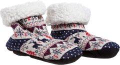 Cosy&Trendy Kersenpit Paar Pantoffels Hert