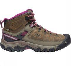 Donkerrode Keen Women's TARGHEE III MID Waterproof Boots - Wandelschoenen