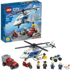 LEGO City 60243 Politiehelikopter Achtervolging (4117771)