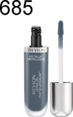 Blauwe Revlon Ultra HD Metallic Matte Liquid Lipcolor lippenstift