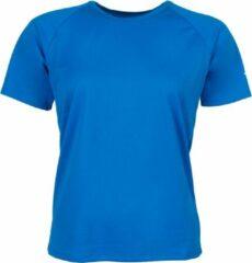 Brooks Basic SS Sportshirt - Maat XL - Vrouwen - blauw