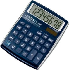 Calculator Citizen C-series desktop DesignLine blauw