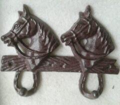 MadDeco - kapstokhaken - paardenhoofd - 4 haken
