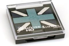 Blauwe Rimmel London Rimmel Glam'Eyes HD Union Jack - 3 Royal Blue - Blauw - Oogschaduw