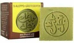 Zwarte Aleppo zeep Aleppo gastenzeepjes SET 5 zeepjes