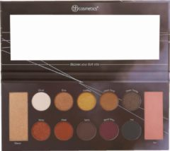 BH Cosmetics Oogschaduwpalet Mrs. Bella The Dark Side - 12 kleuren