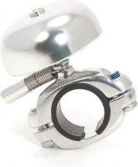 XLC bel mini retro aluminium zilver