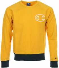 Gele Sweater Champion Crewneck Sweatshirt