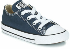 Blauwe Converse Toddlers' Chuck Taylor All Star Ox Trainers - Navy - UK 10 Toddler - Blue