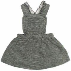 Grijze Moodstreet Meisjes jurk Moodstreet Kiss antraciet 50/56