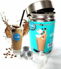 Gelita ijskoffie mix- 500gr. blik- 25 porties-instant- incl. maatschep.