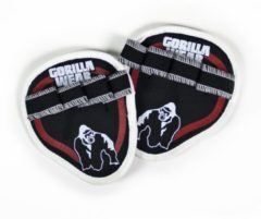 Gorilla Wear Palm Grip Pads- Rood