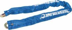 Blauwe Silverline Veiligheidskettingslot met huls 900 mm