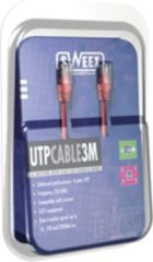 Rode Sweex UTP Cable Cat5E 7.5M Red 7.5m Rood netwerkkabel