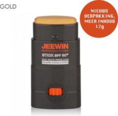 JEEWIN Technical Sportscare JEEWIN Sunblock Stick SPF 50 - MAT GOLD/D'ORE | ook geschikt voor bescherming tattoo