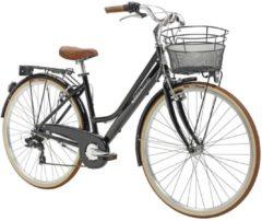 28 Zoll Damen City Fahrrad 6 Gang Adriatica Retro Adriatica schwarz