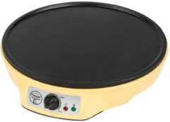 Bestron ASW602 crepe maker 1 crêpe(s) Zwart, Geel 1000 W