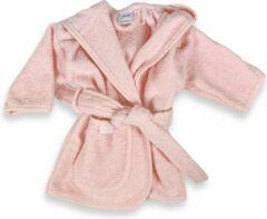 Funnies badjas blush | funnies badjas | badjas 1-2 jaar | 100% zuivere katoen, badstof | baby | na het zwemmen | na het douchen