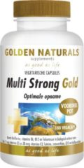 Golden Naturals Multi Strong Gold (180 vegetarische capsules)