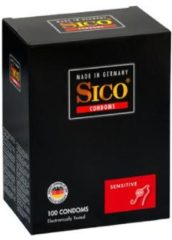 Transparante Sico Sensitive Condooms - 100 Stuks