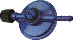 Highlander Gasdrukregulator Voor Gasfles 13 Cm Staal Blauw